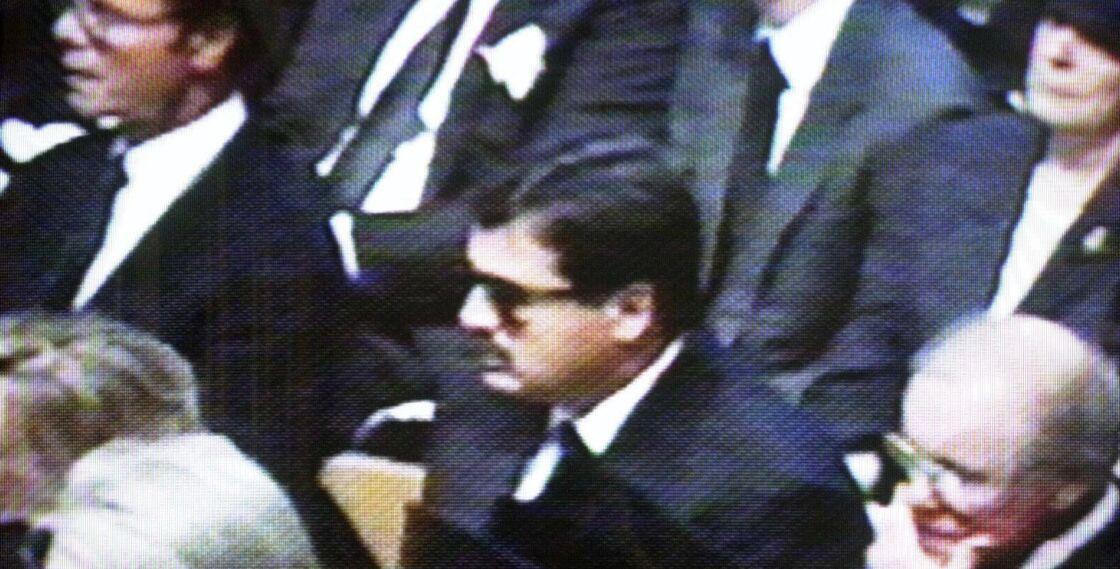 Hasnat Khan lors des obsèques de Lady Diana, à l'Abbaye de Westminster, à Londres, le 6 septembre 1997.