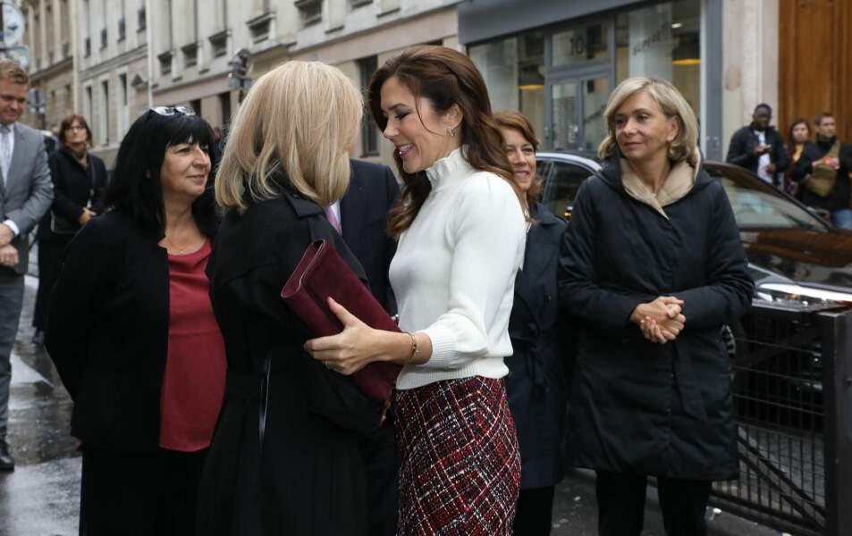 Mary du Danemark est en voyage officiel à Paris pour trois jours