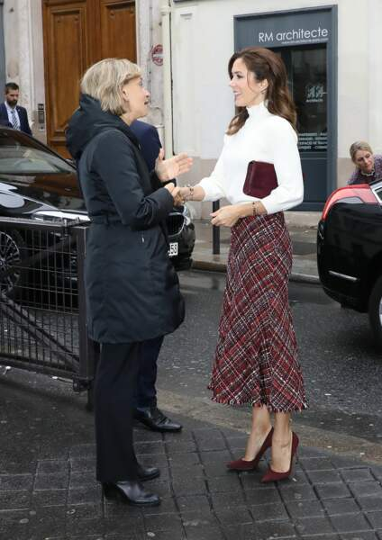 Mary du Danemark est une férue de mode et toujours à la pointe de la tendance