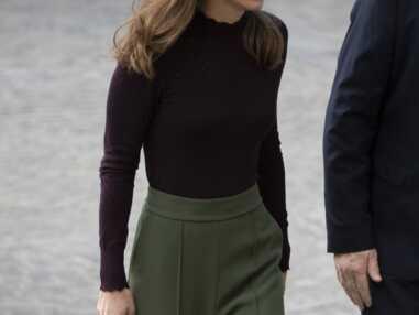 PHOTOS - Kate Middleton fait sensation avec un sac Chanel lors d'une visite surprise