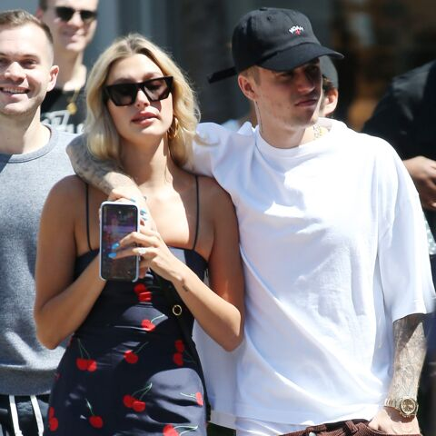 PHOTO – Mariage de Hailey Baldwin avec Justin Bieber: découvrez sa robe de mariée très rock'n'roll