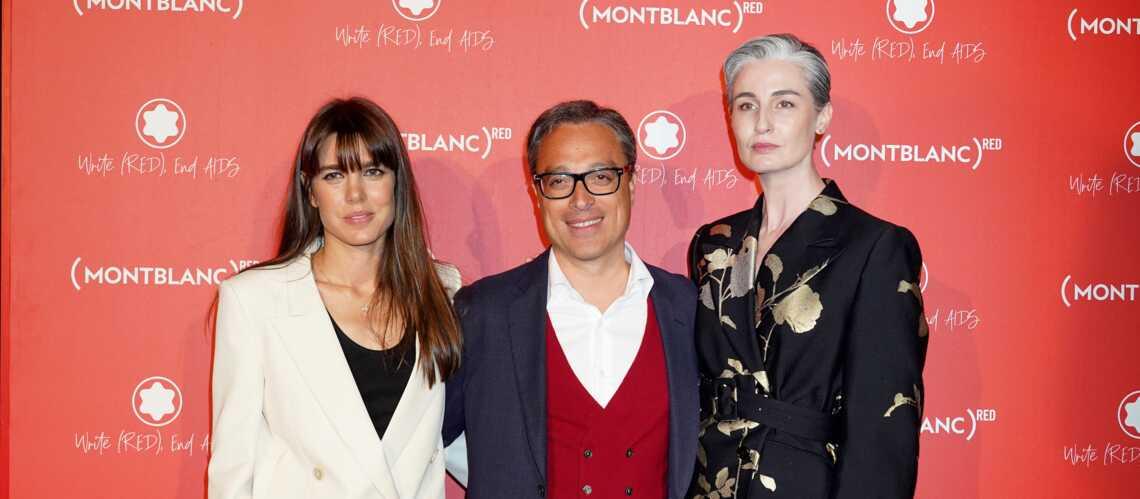 VIDÉO – Charlotte Casiraghi sublime en blazer blanc sur les Champs-Élysées - Gala