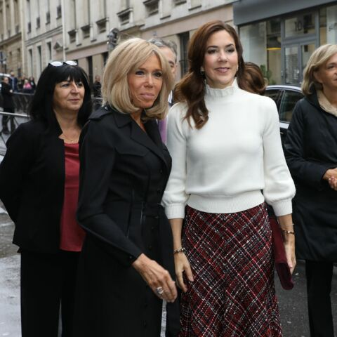 PHOTOS – Brigitte Macron et Mary de Danemark très élégantes pour leur retrouvailles à Paris