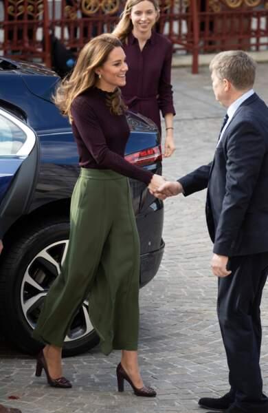 Kate Middleton sublime pour une visite surprise le 9 octobre pour la protection de la faune sauvage