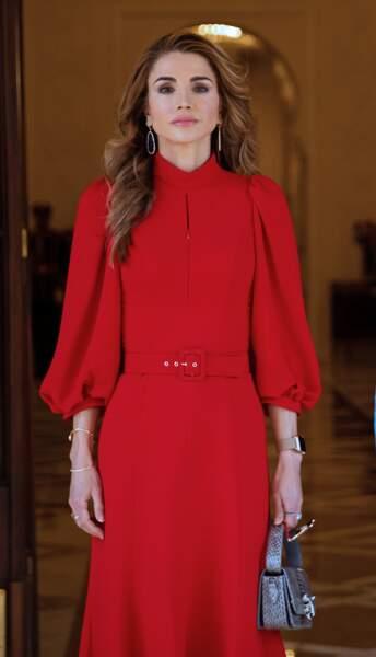 La reine Rania de Jordanie a rencontré le président égyptien Abdel Fattah El Sisi et son épouse Entissar Amer, le jeudi 10 octobre.