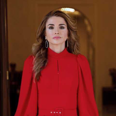 PHOTOS – Rania de Jordanie fashionista, elle n'a rien à envier à Kate Middleton