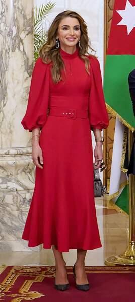 Il n'y a pas à dire, la reine Rania al-Yassin n'a rien à envier à Kate Middleton...