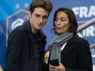 PHOTOS - Leila Kaddour et son chéri Pierre Guenard à l'unisson pour le match des Bleus