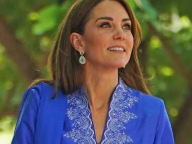 PHOTOS - Kate Middleton et se boucles d'oreilles fétiches au Pakistan