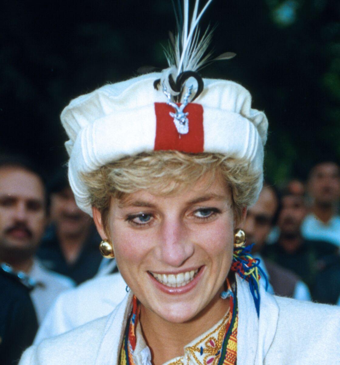 Lady Diana au Pakistan en 1991