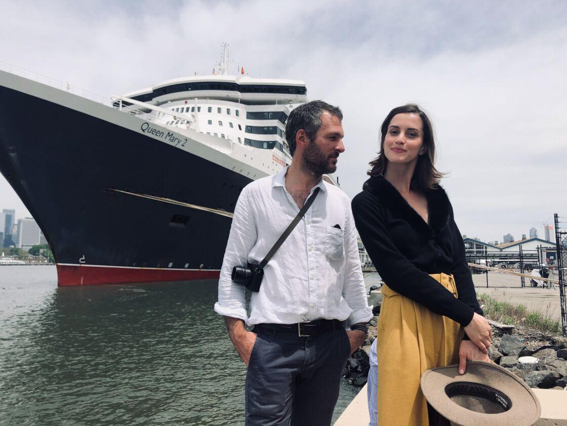 une belle complicité entre Benjamin Decoin, le photographe de Gala et la top Ana Rotili