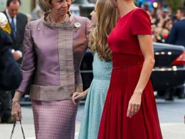 GALA PHOTOS - Le geste surprenant de Letizia d'Espagne envers sa belle-mère