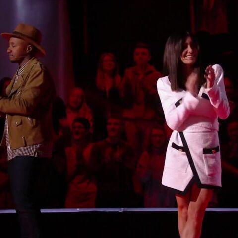 PHOTOS – Jenifer, sexy chic dans une robe Alexandre Vauthier pour la demi-finale de The Voice Kids