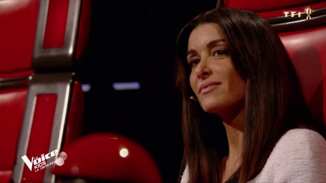 La chanteuse Jenifer pour les demi-finales de The Voice Kids