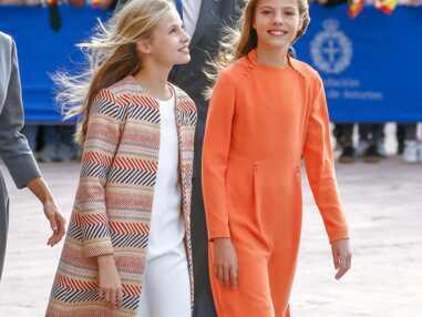 PHOTOS - Leonor d'Espagne : sa cadette Sofia de plus en plus grande la dépasse d'une tête désormais