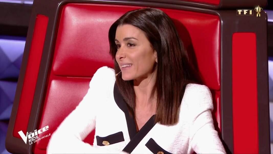 Jenifer, très en beauté sur le plateau de The Voice Kids