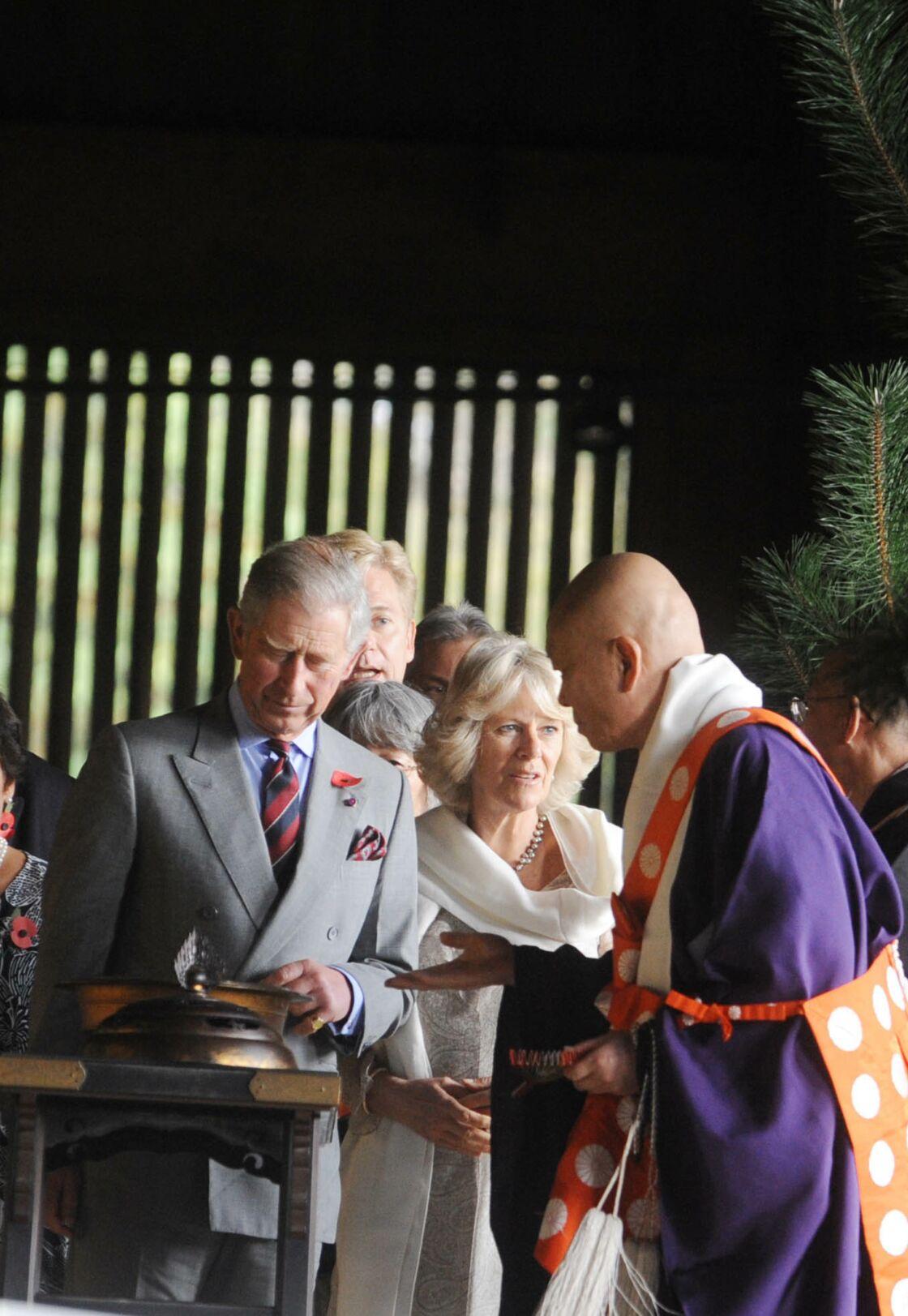 Charles et Camilla au Japon, en 2008.
