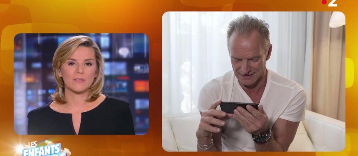 VIDÉO – Laurence Ferrari : ce petit lapsus coquin sur Sting qui l'a bien amusé - Gala