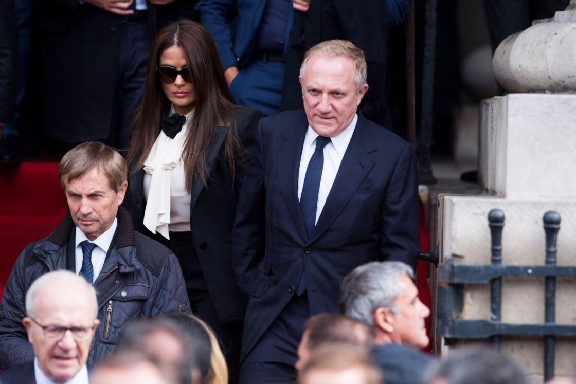 Obsèques de Jacques Chirac : François-Henri Pinault et sa femme Salma Hayek