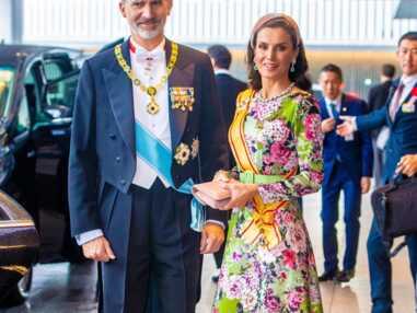 PHOTOS - Letizia d'Espagne fait sensation : son look fascine pour l'intronisation de l'empereur du Japon