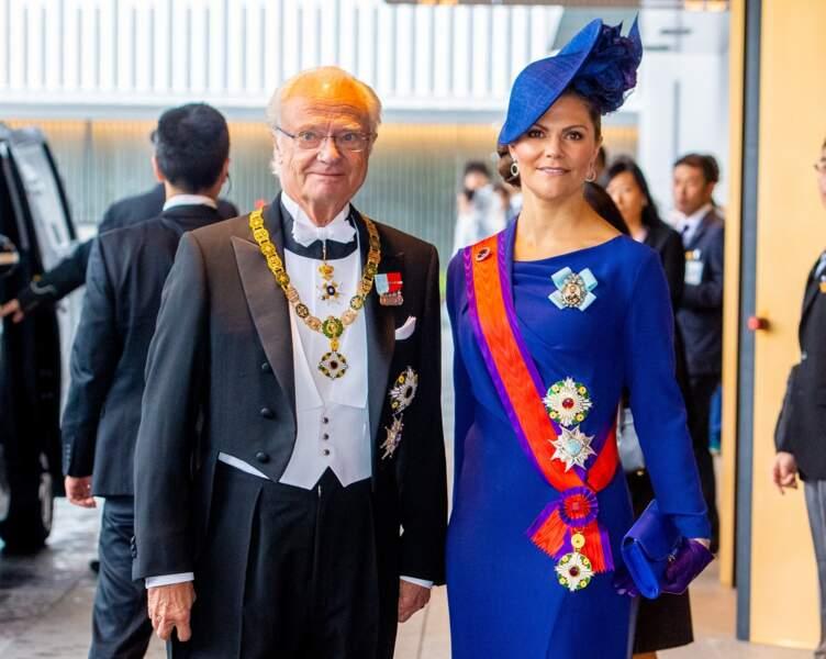 Le roi Carl XVI Gustav de Suède et la princesse Victoria de Suède étaient également au rendez-vous.