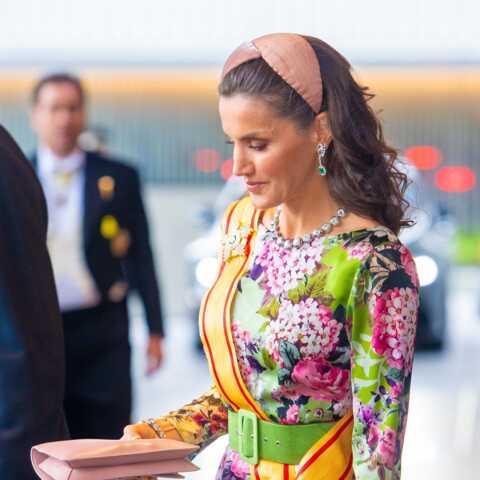 PHOTOS – Letizia d'Espagne fait sensation: son look fascine pour l'intronisation de l'empereur du Japon