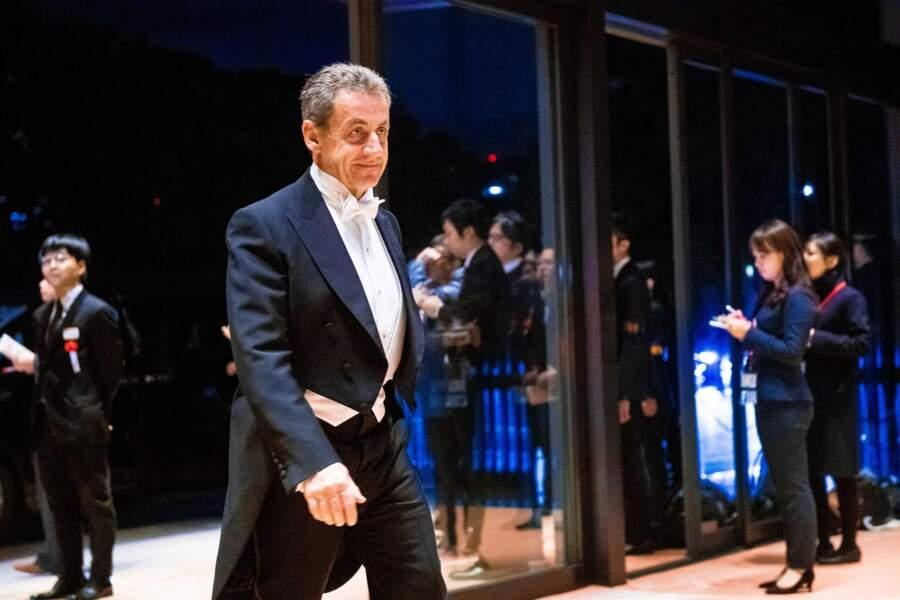 Nicolas Sarkozy, aussi, était présent pour cet événement haut en couleur.