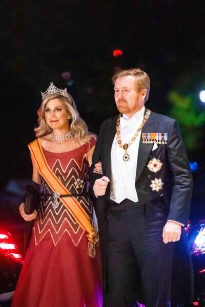 Le roi Willem-Alexander et la reine Maxima des Pays-Bas ont aussi fait le déplacement...