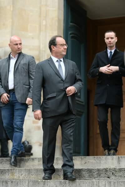 François Hollande a souhaité rendre hommage à l'acteur de Profilage