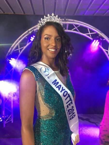Eva Labourdere élue Miss Mayotte 2019 pour Miss France 2020 !
