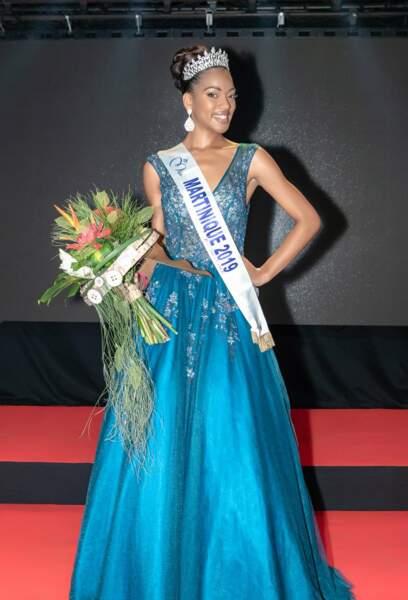 Ambre Bozza élue Miss Martinique 2019 pour Miss France 2020 !