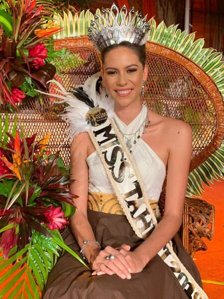 Matahari Bousquet élue Miss Tahiti 2019 pour Miss France 2020 !