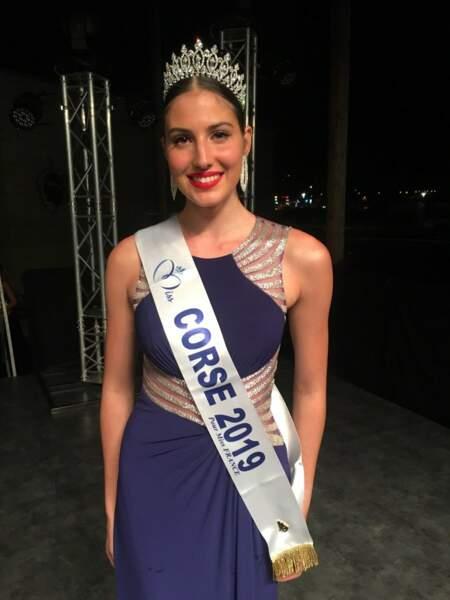 Alixia Cauro élue Miss Corse 2019 pour Miss France 2020 !