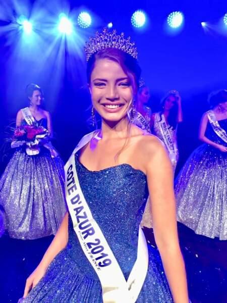 Manelle Souhalia élue Miss Côte d'Azur 2019 pour Miss France 2020 !