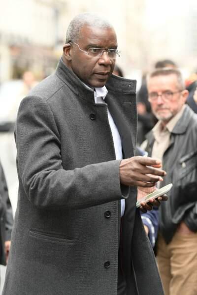 Jacques Martial aux obsèques de son frère, Jean-Michel ce mercredi 23 octobre à Paris