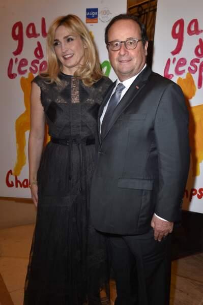Le couple assistait au  27ème Gala de l'Espoir de la Ligue contre le cancer