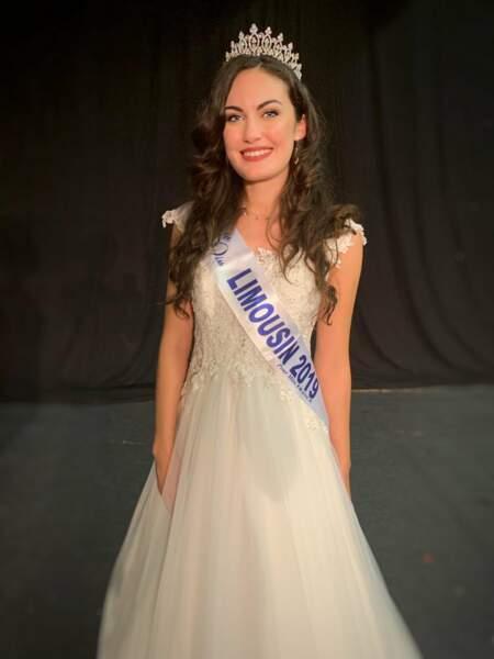 Alison Salapic élue Miss Limousin 2019 pour Miss France 2020 !