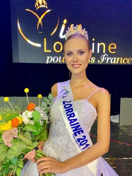 Ilona Robelin élue Miss Lorraine 2019 pour Miss France 2020 !