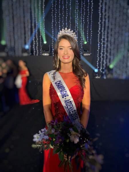 Lucile Moine élue Miss Champagne-Ardenne 2019 pour Miss France 2020 !