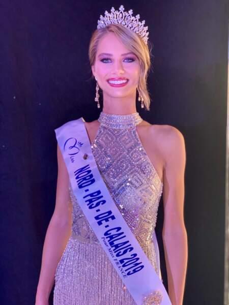 Florentine Somers élue Miss Nord-Pas-de-Calais 2019 pour Miss France 2020 !