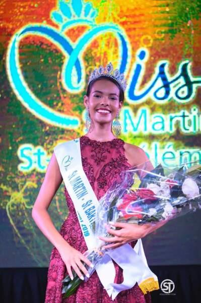 Layla Berry élue Miss St Martin - St Barthélémy 2019 pour Miss France 2020 !