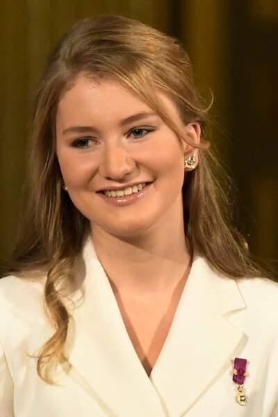 La ravissante Elisabeth, 18 ans, à Bruxelles, le 25 octobre 2019.