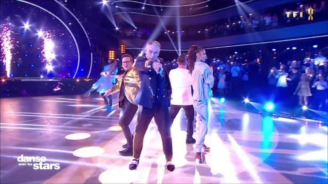 Shy'm se la joue streetwear dans Danse avec les stars