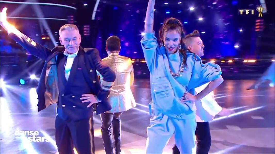 Shy'm et les autres juges de Danse avec les stars