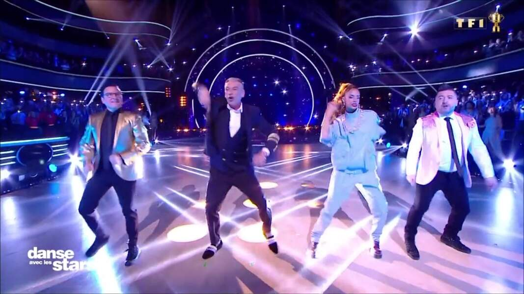 Danse avec les stars : Shy'm et les autres jurés de l'émission