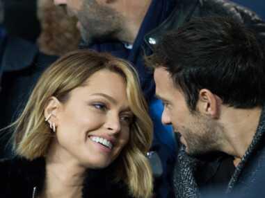"""PHOTOS - Caroline Receveur et Hugo Philip, amoureux et entourés de célébrités pour le """"classico"""" PSG-OM !"""