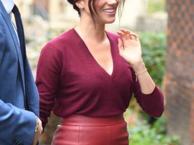 Tendance mode : la jupe en cuir comme Meghan Markle