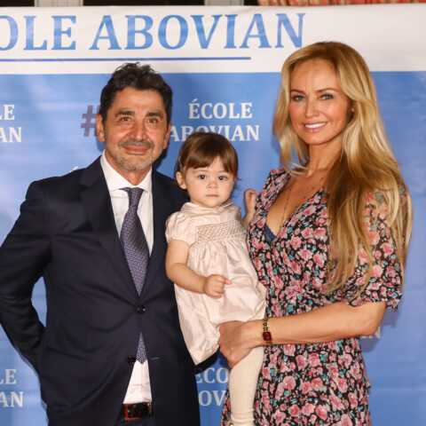 PHOTOS – Adriana Karembeu radieuse au bras de son mari et leur fille Nina