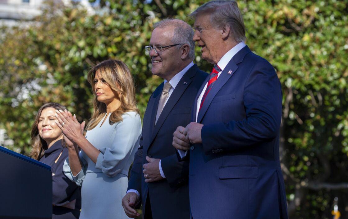 Melania Trump est la reine des ongles en amande