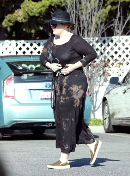 Adele tout en simplicité à Beverly Hills en décembre 2016